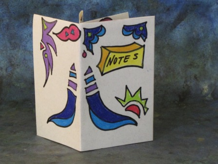 Origami Pamphlet, with designs