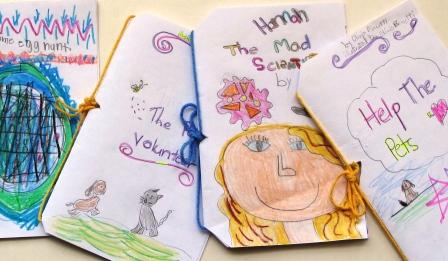 Four books by Second Graders