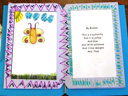 Poem and Illustration by a First Grade Student