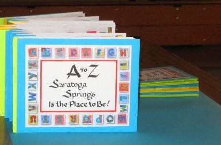 Accordion Book made by children, assembled by Paula Krieg