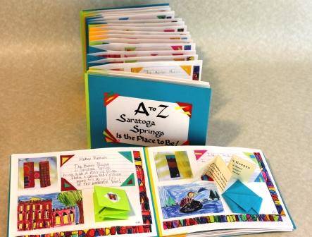 Saratoga Springs Alphabet Book made by Second Graders at St. Clements School