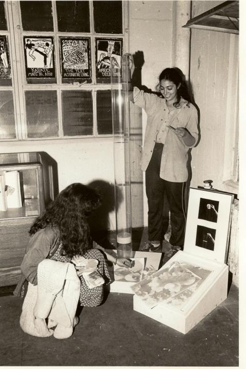 Paula Krieg 1983 Terminal New York Show