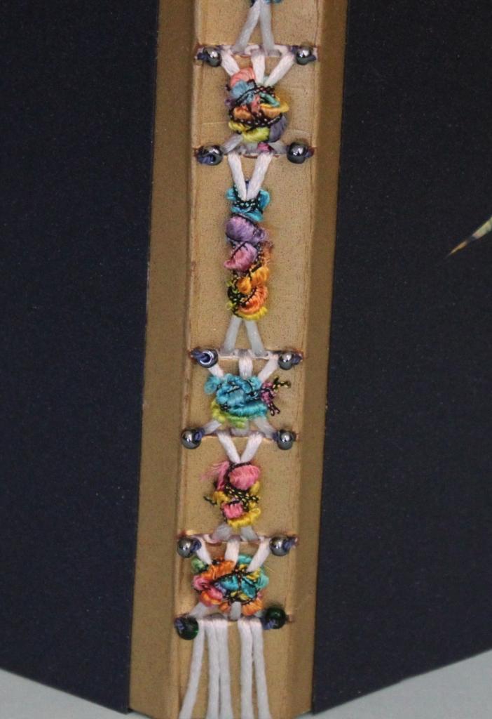 Long Stitch Book, Decorative Spine, by Paula Beardell Krieg
