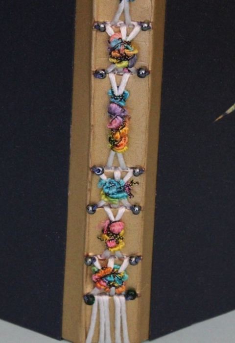 Long Stitch Book, Decorative Spine, by Paula Beardell Krieg