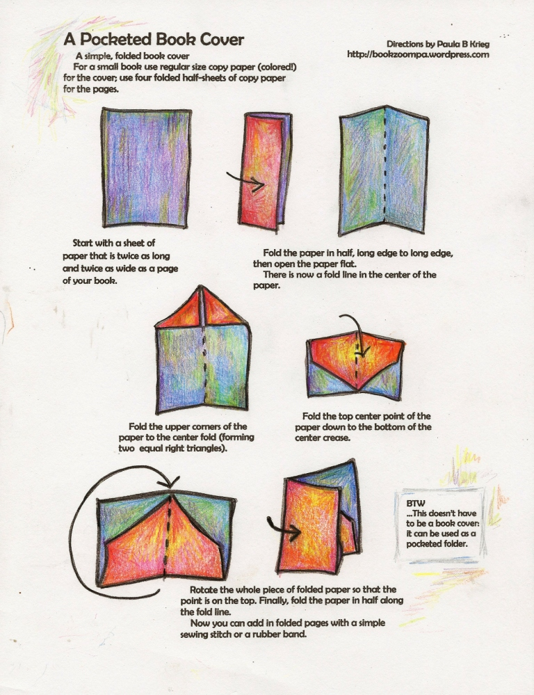 How To Make A Book Cover : Non adhesive book playful bookbinding and paper works