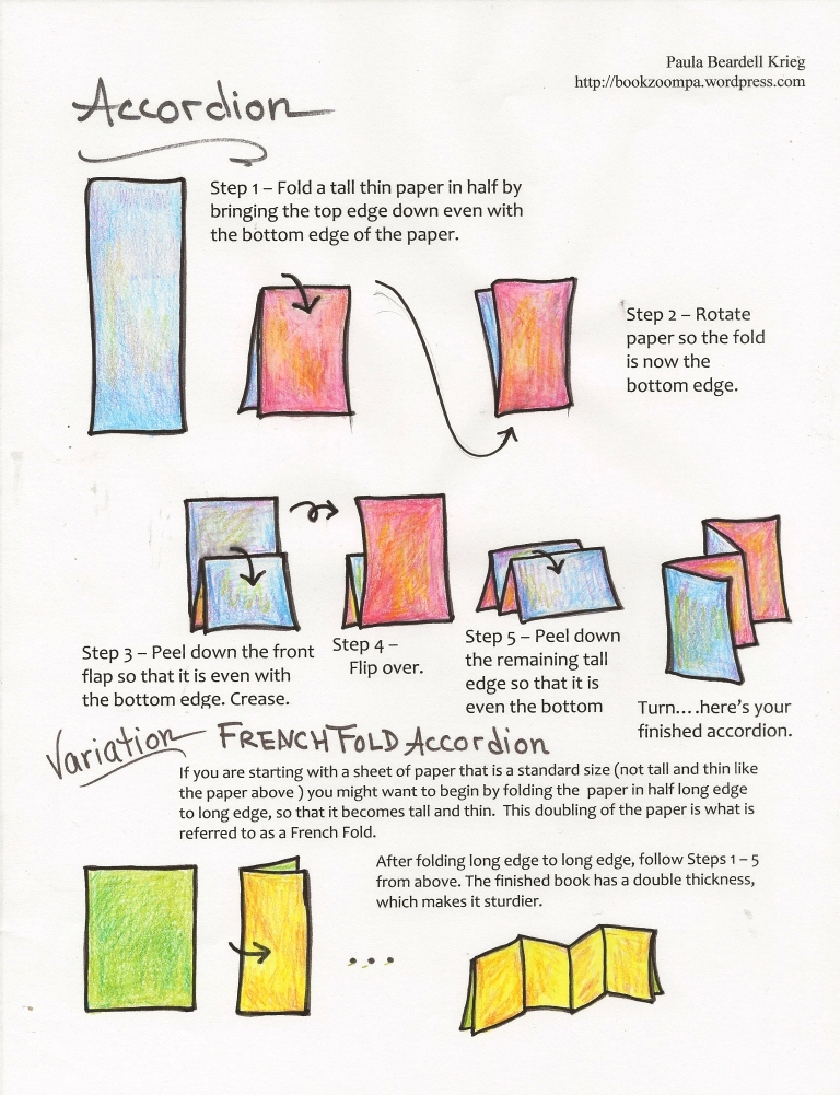 how to make a paper spring � playful bookbinding and paper