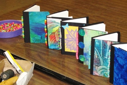 making books with high school students playful bookbinding and