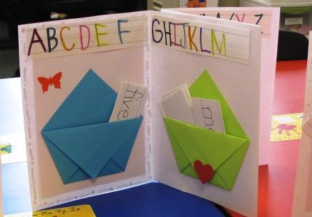 Origami Books in Accordion Book