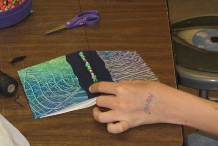paste paper book