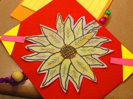 yellow flower drawing