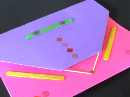 pink and purple book with cool closure