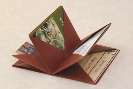 blizzard books post 2 card carrier playful bookbinding and paper works. Black Bedroom Furniture Sets. Home Design Ideas