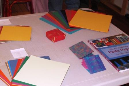 Getting Ready to Make Paste Papers
