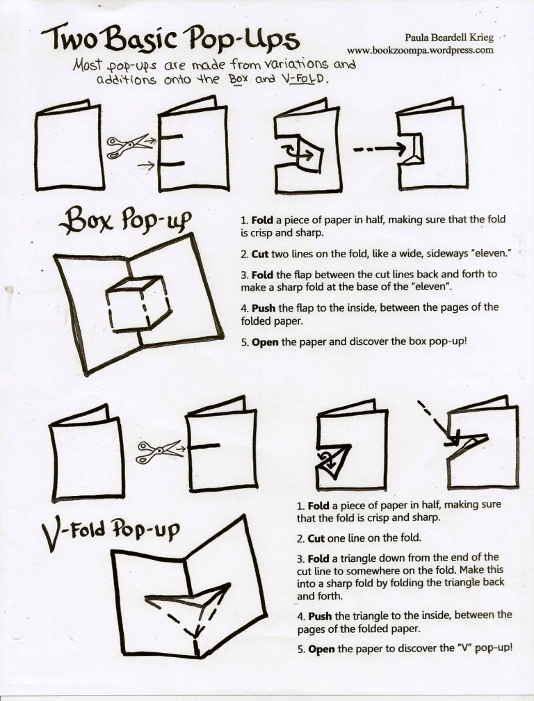 Paper Book Cover Directions ~ How to make a paper spring playful bookbinding and