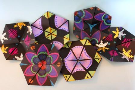 hexagonflexagons