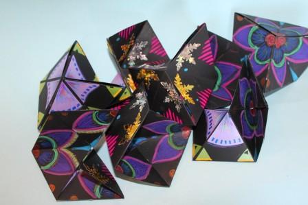 hexagonflexagon pile