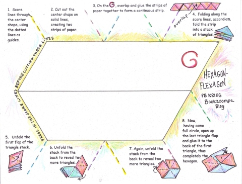 How to Make a Hexagon-Flexagon