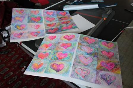 Sheets of Valentines