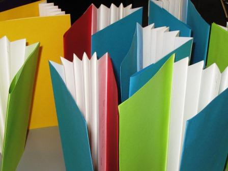 Books in Process, Accordion Spines