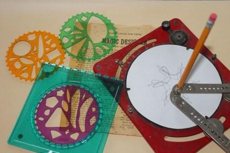 The Magic Design machine and Klutz wheels