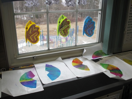 Anticipating Spring In First Grade