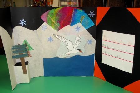 Alaska book with Tern