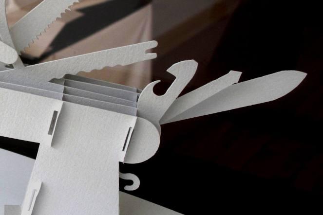 Swiss Army Knife Pop-up by Shawn Sheehy