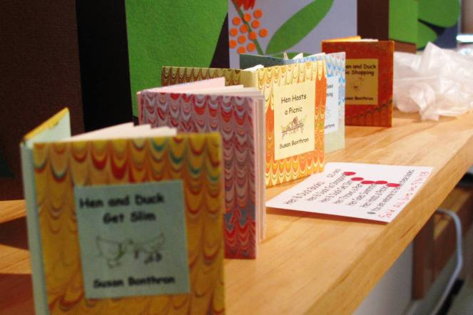 Hen and Duck books by Susan Bonthron