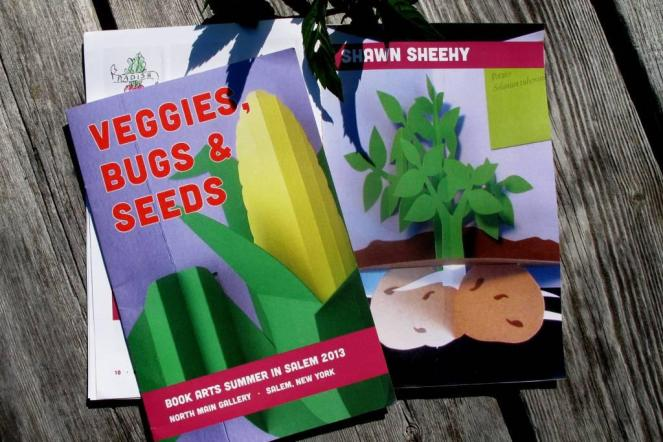 Book Arts Summer in Salem: Veggies, Bugs and Seeds Catalog