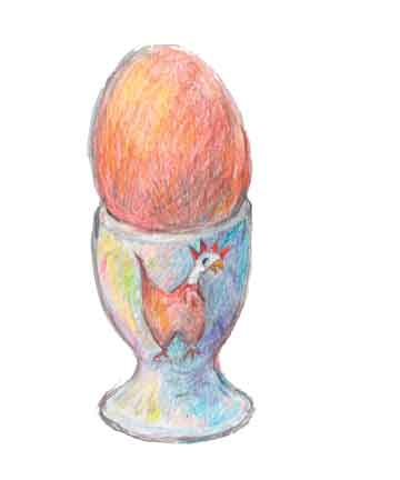 Egg and Egg Cup