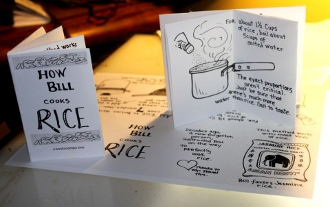 Zine of How Bill Cooks Rice