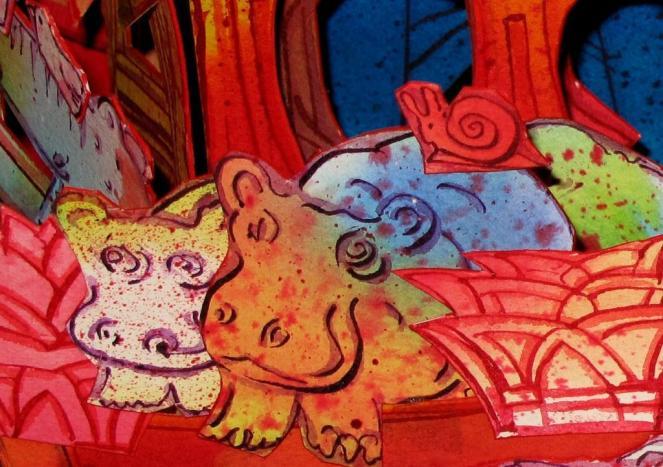 the Good-bye Hippos on Paul Johnson's Noah's Ark