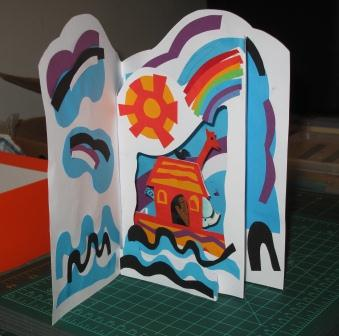 Model for Pop-Up Theater Card
