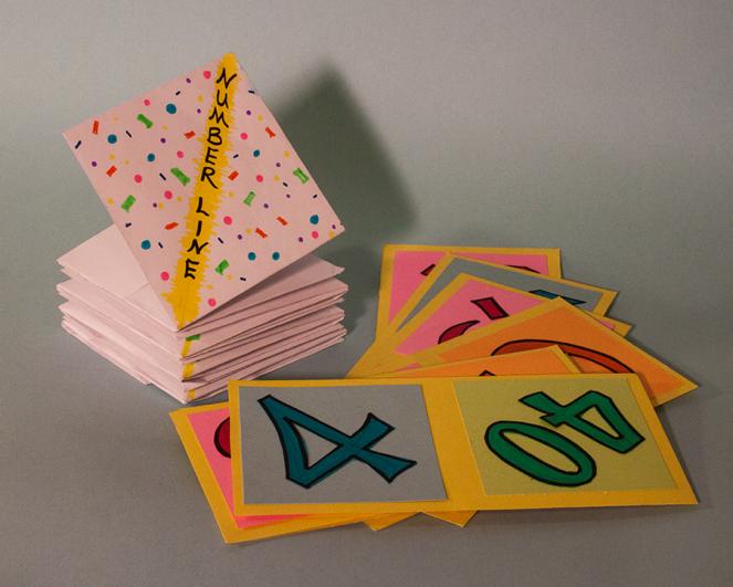 Folded Number Line