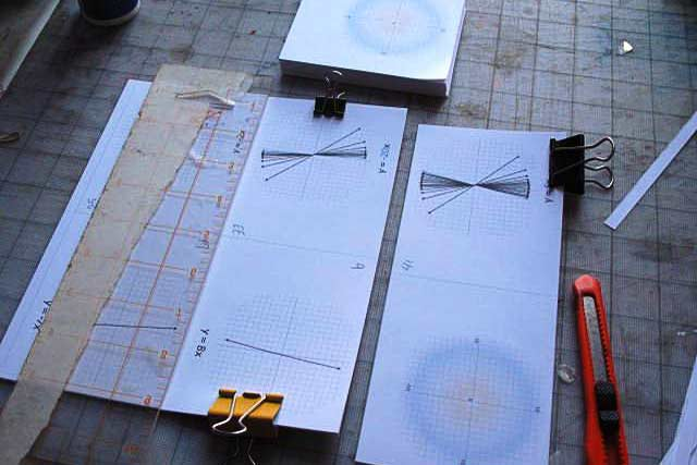 Flip Book: Cutting the pages down to size