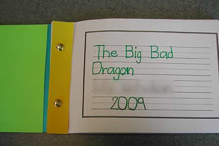 Big Bad Dragon storybook