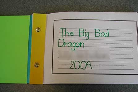 Big Bad Dragon storybook