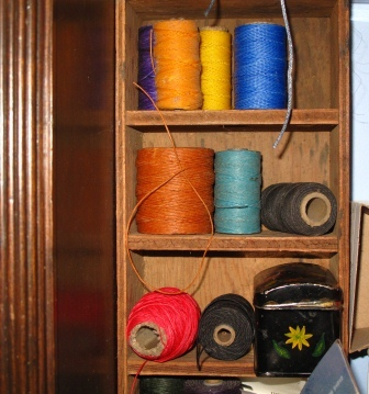 Waxed Thread of Sewing Books