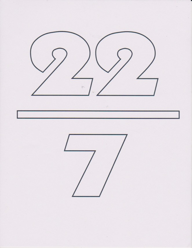pi 22 7