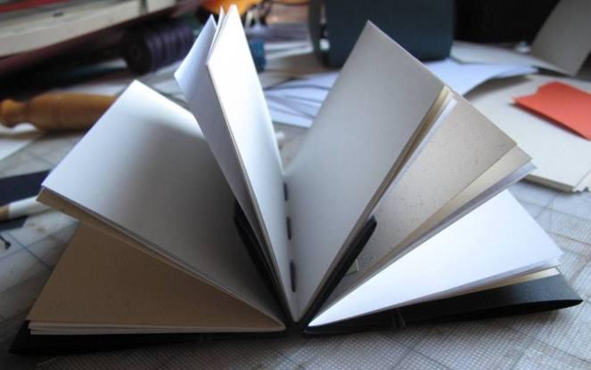 3 signature book shwoing thread inside