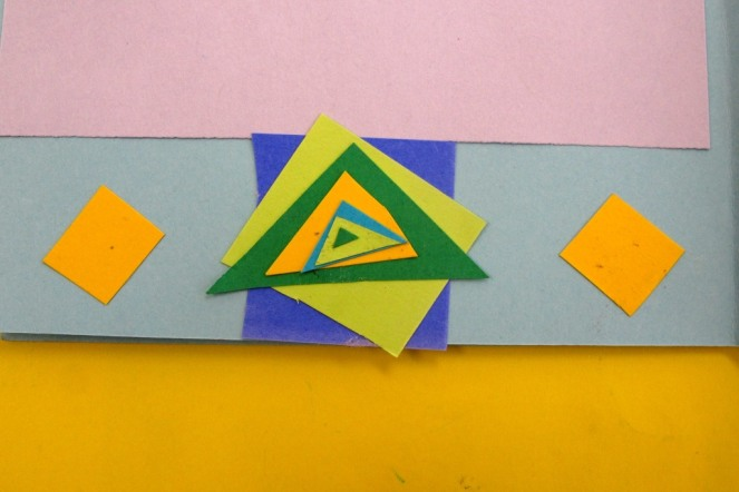 Scaling down triangles