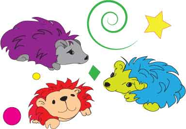 3-hedgehogs