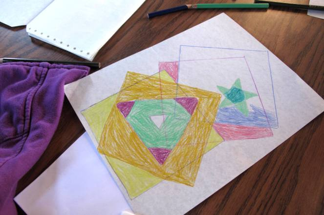 Colored Shapes