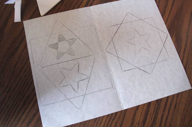 Tracing Shapes to Create  More Shapes