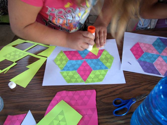 Making a Hexagon with a Star in the Middle