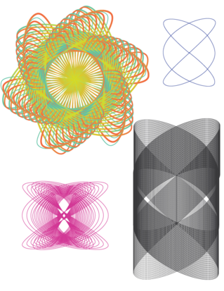 Lissajous transformations by Paula Beardell Krieg