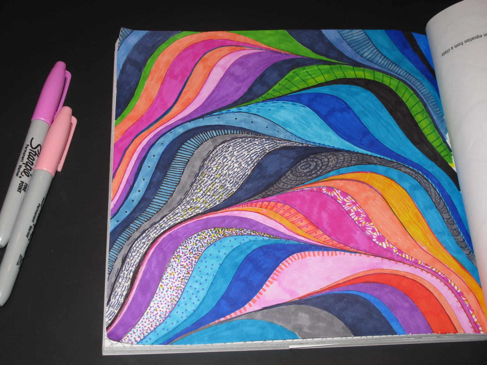 pattern of the universe coloring book playful bookbinding and