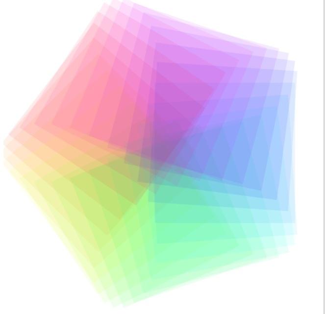 Dan's rotating squaresund pentagon