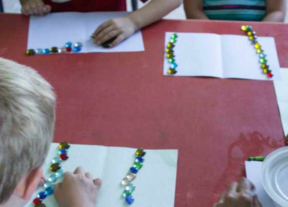 Comparing Lines of beads