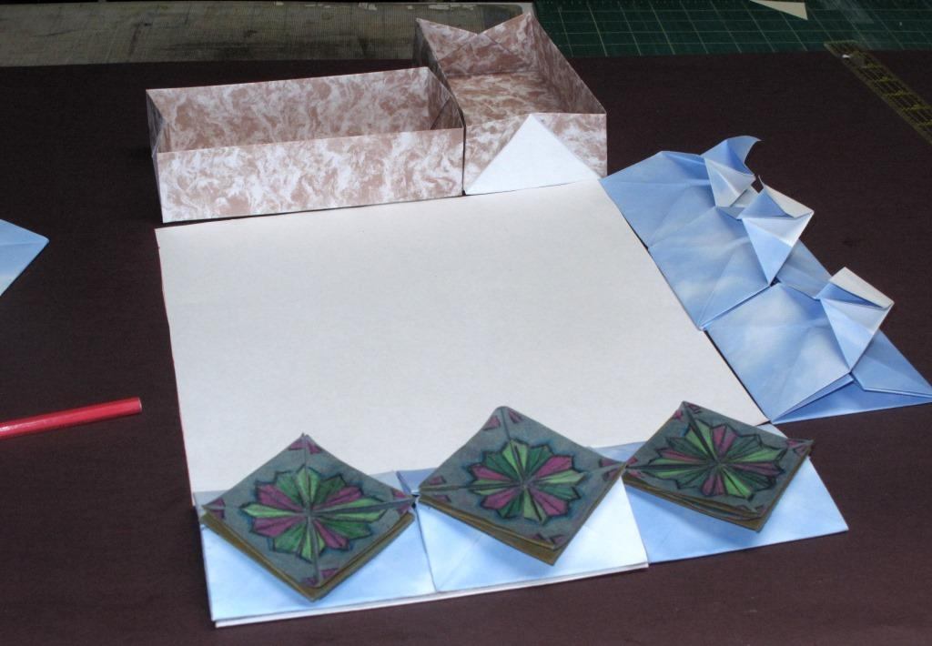 Rectangular Origami Box Playful Bookbinding And Paper Works